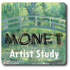 Monet artist study for homeschool. Claude Monet is sure to be at the top of your homeschool artist study list! His paintings are everywhere and his contribution to art history is. Claude Monet, Artist Monet, Art History Lessons, 7th Grade Art, Ecole Art, Kandinsky, Preschool Art, Art Lesson Plans, Art Classroom