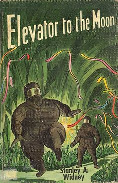 Elevator to the Moon 1955 by Neato Coolville, via Flickr