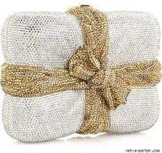 Judith Leiber Package Clutch Handbag ..