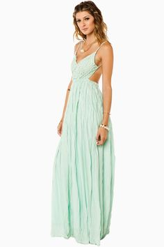 ShopSosie Style : Maybe I'm Dreaming Maxi Dress in Mint