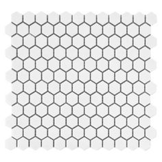 <p>This contemporary finish White Hexagon Porcelain Mosaic is 12in. x 12in.</p><p>Add a stylish touch to any room with porcelain flooring. It is ideal for its beauty and versatility and can also be used in any room in your house. With proper installation porcelain tiles can last for years with very little maintenance. Porcelain is an excellent choice to decorate walls as well.</p>