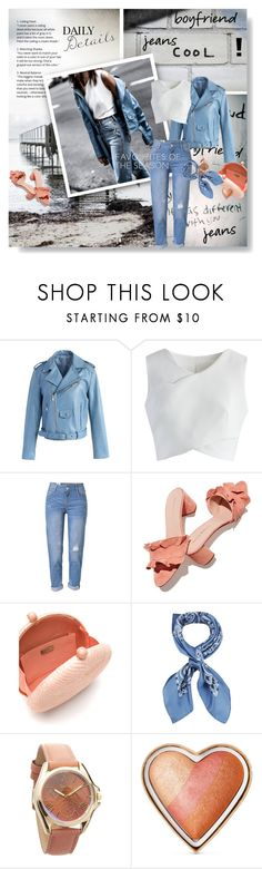 """""""Borrowed from the Boys: Boyfriend Jeans"""" by lacas ❤ liked on Polyvore featuring Marissa Webb, Chicwish, WithChic, Loeffler Randall, Serpui, Manipuri, Geneva, Too Faced Cosmetics and boyfriendstyle"""