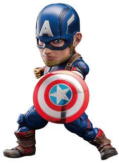 Captain America Egg Attack Action Figure EAA-011 Avengers: Age of Ultron
