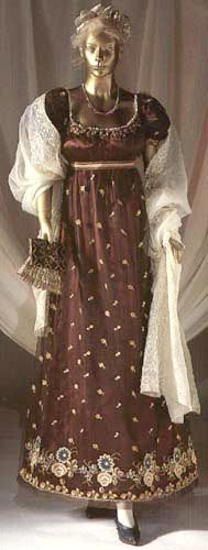 1808 French gown