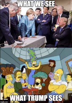 The Simpsons does it again ...