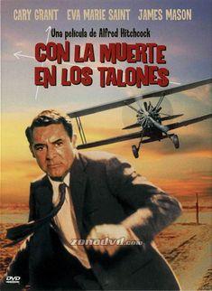 Con la muerte en los talones (1959) EEUU. Dir: Alfred Hitchcock. Suspense. Películas de culto - DVD CINE 58