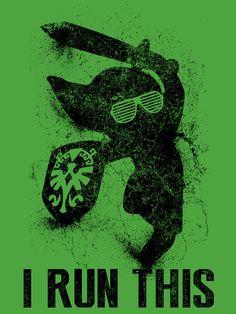 """Link Boss Black Version"" Art Print by Head Glitch on Society6."