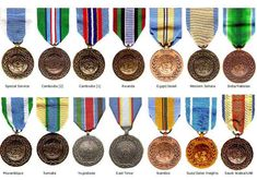 United Nations peacekeepers | UNITED NATIONS MEDALS (not in my collection)