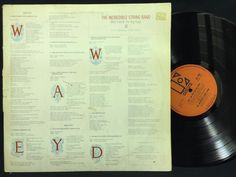 The Incredible String Band Wee Tam & The Big Huge A1/B1 UK LP #Vinyl Record
