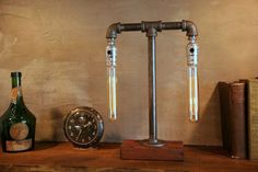 Duel Tube Edison Industrial Lamp