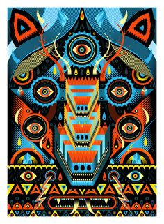 MEGAOPTICUS    Sergeant Paper éditions  Giclee print on Innova paper 210gr