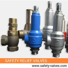 Safety relief valves are used to prevent overpressure in plant or equipments. It functions by releasing volume of liquid from the plant, if preset maximum pressure is reached. It reduces the excess pressure with safe and sound manner. So, they are also called the pressure relief valves. Safety Valve, Relief Valve, Oil And Gas, Plant, India, Goa India, Plants, Replant, Indie
