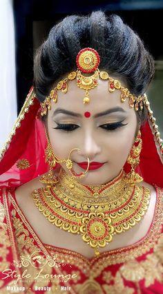 Pink n purple Indian bridal look by kajal sharma Indian Wedding Makeup, Best Bridal Makeup, Bridal Makeup Looks, Bridal Looks, Indian Makeup, Bridal Makup, Pakistani Bridal Makeup, Bengali Bride, Bengali Wedding