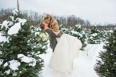 Outdoorsy Glam Pennsylvania Wedding