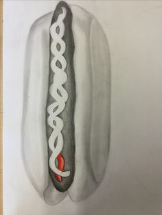 In de afgelopen les heb ik dit getekend , het was moeilijk om alle schaduwen goed en precies te tekenen , ik ging ook met kleur werken