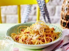 Spaghetti Carbonara Rezept   LECKER