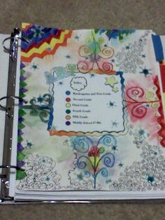 smArty: Organizing Lesson Plans: This looks like it might work for me, especially  printing the PP.