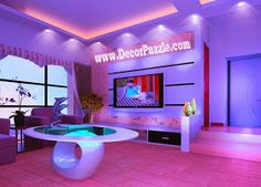 led ceiling lights and led spot lights for false ceiling in living room