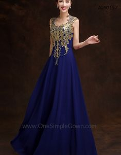 Gold Flowers Evening Dresses Prom Dinner Colors Chiffon Gowns Dining Silk Fabric Robes De Soiree Formal
