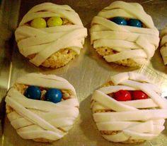 Halloween Mummy Cookies, 46 Awesome Halloween Recipes