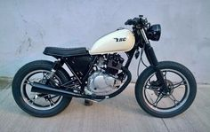 Tracker Motorcycle, Cafe Racer Motorcycle, Suzuki Cafe Racer, Yamaha Virago, Cafe Racer Style, Street Tracker, 50cc, Vintage Bikes, Custom Bikes