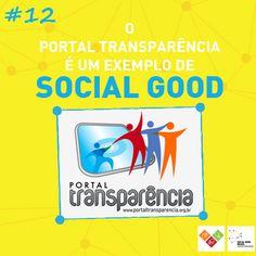 Porque nós participamos do Portal Transparência do ICom, no qual prestamos contas à sociedade por meio dessa plataforma online. Isso é #socialgoodbr!
