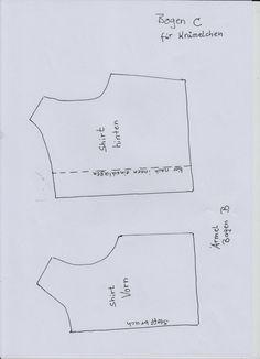 Schnittmuster Shirt Teil 1 von 2