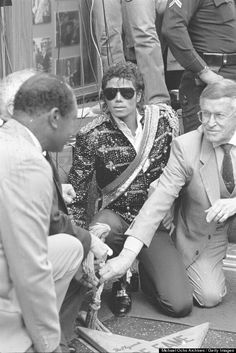 Michael Jackson Hollywood Walk Of Fame star