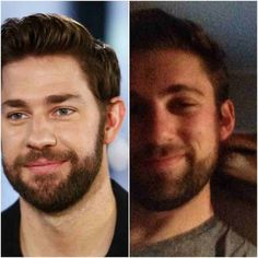 "John Krasinski  ""You Look Just Like…"" Check Out These Real People Who Look Just Like Famous Celebrities – BoredBug"