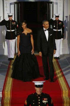 Our first lady and our President Obama