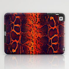 Fluorescent  Snake Skin Grunge  Pattern   iPad Case by OCDesigns  - $60.00 #ipad mini case