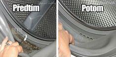 S těmito 2 ingrediencemi bude vaše pračka vypadat a vonět jako nová! Geniální návod! Washing Machine, Nova, Home Appliances, Home Decor, Hacks, Ideas, Board, Tips, House Appliances