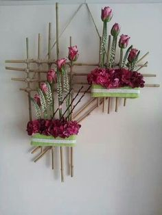 On a budget DIY projects pallet garden design ideas, indoor jungle, small . On a budget DIY Design Floral, Deco Floral, Arte Floral, Plant Wall, Plant Decor, Flower Crafts, Flower Art, Plant Shelves, Diy On A Budget