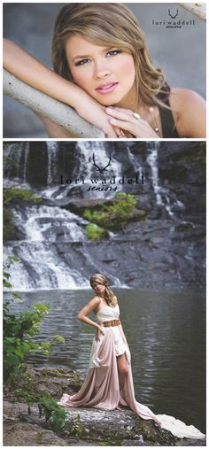 Senior Portrait photography inspiration, who wants to find a waterfall....?