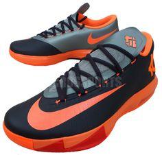 Nike KD VI Anthracite/Total Orange