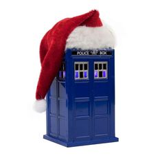 #DoctorWho LED Tardis with Santa Hat Ornament!   #Christmas #Shopping