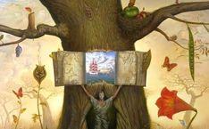 Alegoría de libros de psicología