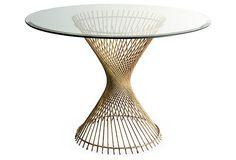 Gold Leaf Dining Table on OneKingsLane.com