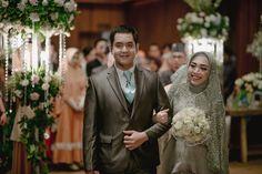 Pernikahan Islami Modern ala Sonia dan Danar -
