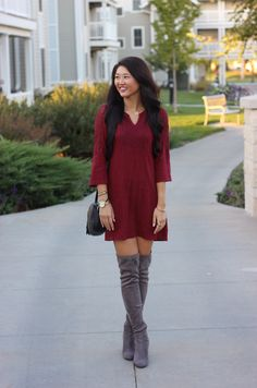 Lady Love Dress || The Mint Julep Boutique https://www.shopthemint.com/products/lady-love-dress-burgundy