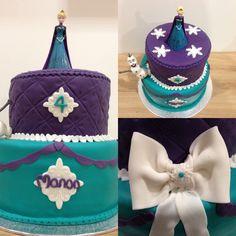#frozen cake design
