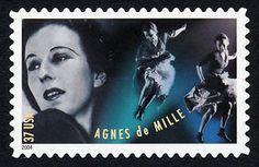 37c Agnes de Mille and Dancers single