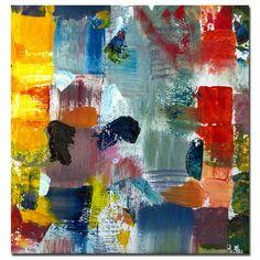 Michelle Calkins 'Color Relationships Iii' Canvas Art