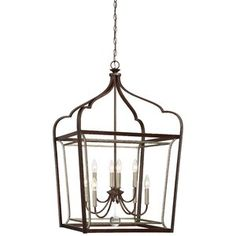 Minka Lavery Astrapia Dark Rubbed Sienna with Aged Silver Traditional Lantern Pendant Light at Lowe's. A beautiful double frame in a hand painted Dark Rubbed Sienna finish complemented with Aged Silver. The Astrapia series by Minka Lavery adds a refined Lantern Pendant Lighting, Minka Lavery, Pendant Lighting, Light, Lantern Lights, Ceiling Pendant Lights, Pendant Light, Silver Pendant Lighting, Rectangle Chandelier