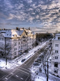 Winter in Munich, Germany.I want to go see this place one day. Please check out my website Thanks.  www.photopix.co.nz