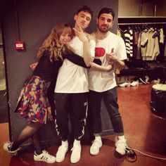 fuckyeahyearsandyears: @colinebach: Cosying up in Paris with these 2 today #ModZik x #YearsandYears