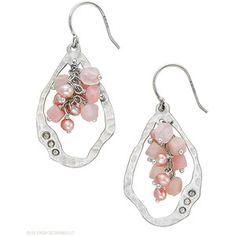Blush Grape Earrings - Polyvore