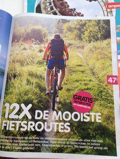 Fietsroutes door NL