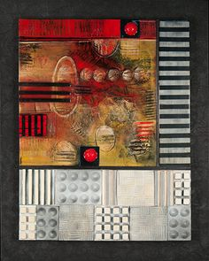 Janet O'Neal - 2D Mixed Media/Dimensioal Reality #4