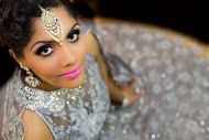 Indian Bridal Beauty Bridal Hair & Makeup: @nickihalamua Wedding Outfit: Ohm by Neena and Astha www.halabeauty.com